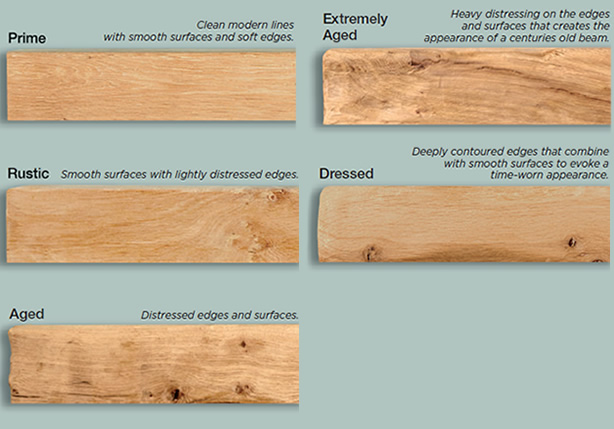 Beam Shelf Surface Texture Aging