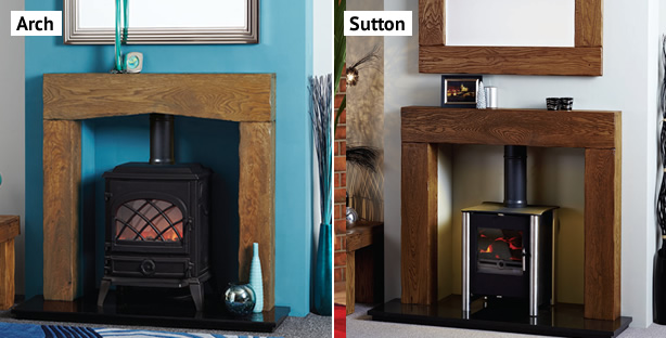 Stove surrounds